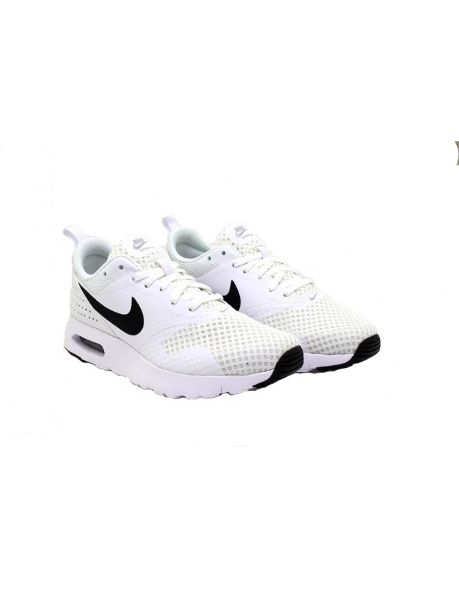 new style b6c11 2def8 Nike Air Max Tavas Junior Youth Older Kids Unisex Shoes in Black White