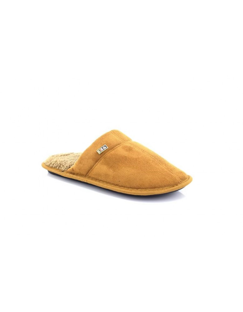 Mens Cool Warm Indoor Microsoft Slippers Slip On Furlined Mules Tan Men's Shoes Clothing, Shoes & Accessories
