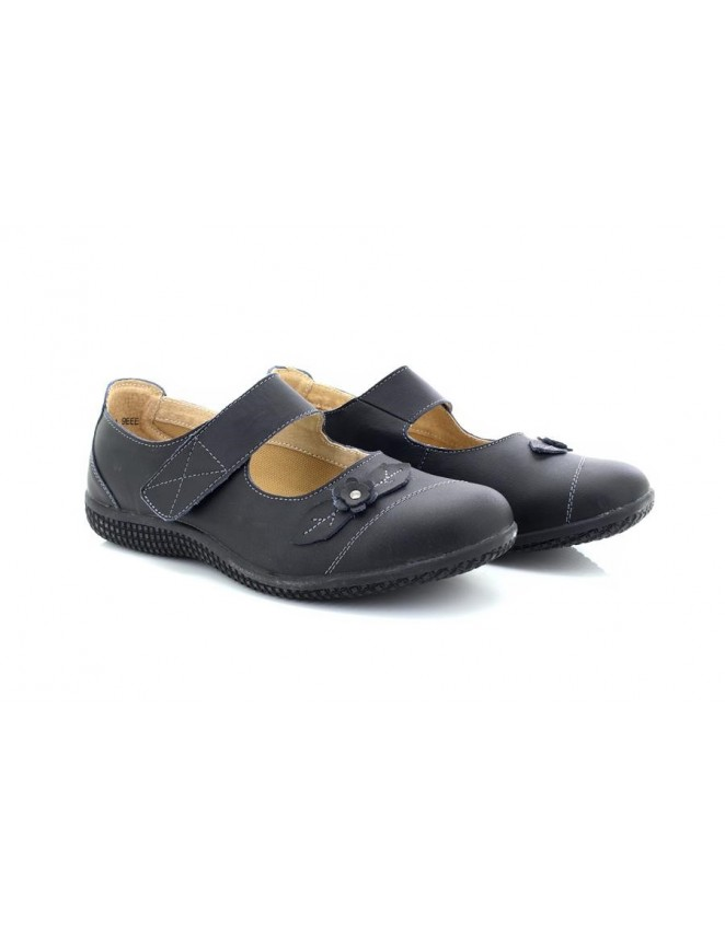 Boulevard L439 Touch Fastening Summer Casual X Wide EEE Fitting Shoes