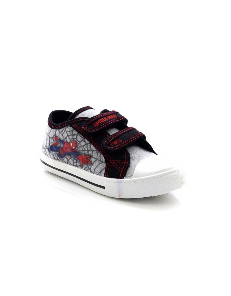 Spider-Man White Multi Official Ultimate Twin Touch Fastening Summer Canvas Trai