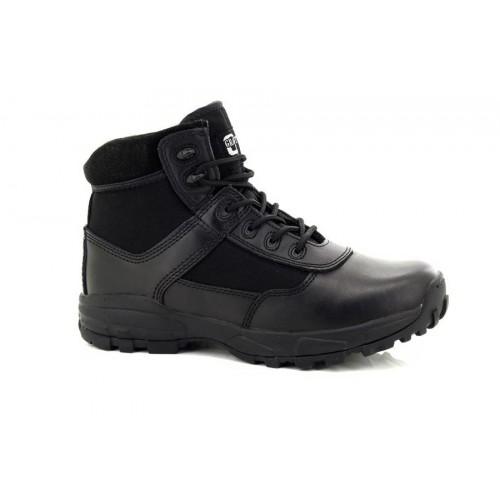 Grafters Cover II Bottes Armée Police de Sécurité en Cuir Non Métallique UK 7-12 Noir