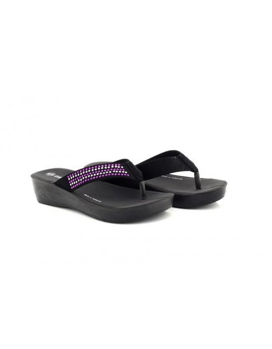 f0f3fb89e4e97b Natrelle Elaine Ladies Comfort Fit Slip On Mule Sandal Shoes