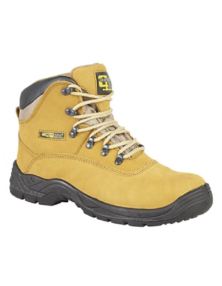 0260323e212fd8 Grafters M216 Mens Industrial Safety Hiker Type Boots Safety Toe Cap