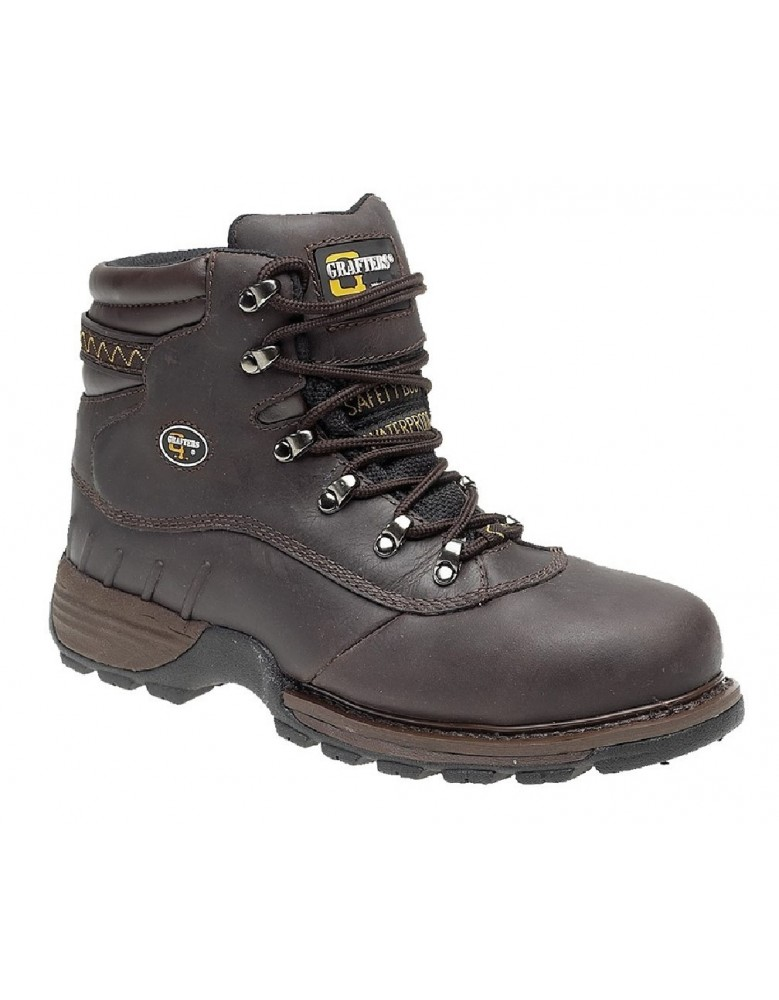 0debef9dc1b GRAFTERS M139A Mens Industrial Safety Hiker Type Boots Safety Toe Cap