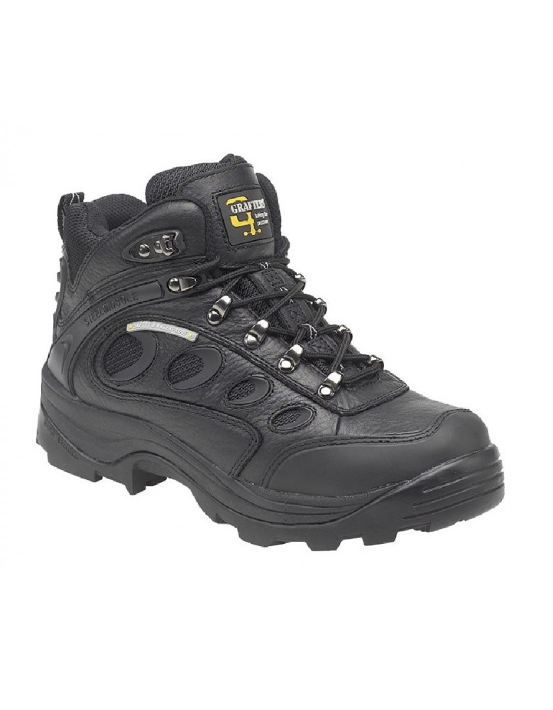 7f99eb806e9 GRAFTERS M137A Mens Industrial Safety Hiker Type Boots