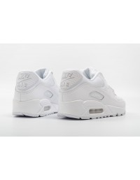 Nike Air Max 90 Essential 537384-111 Triple White Leather