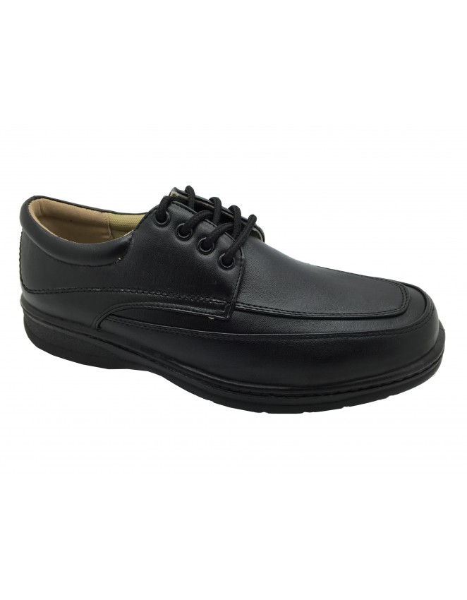 ShuCentre Jimmy Lace Up 5 Eyelet Lightweight Casual Everyday Smart Formal Shoes