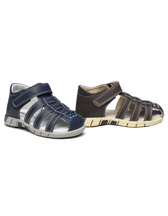 PDQ B040 Boys Toggle And Touch Summer Trek Trail Sandals