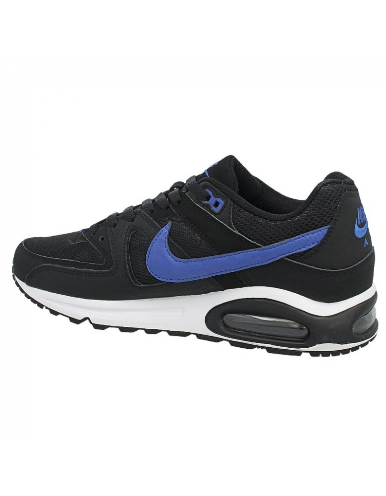 release date: b2455 bee04 ... nike air max command 629993 004 black blue white uk7
