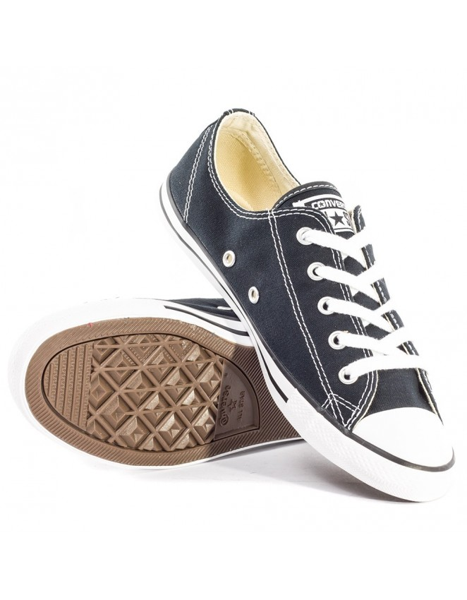 2ad26fd068ff Ladies Converse All Star 530054C Dainty Ox Canvas Trainers