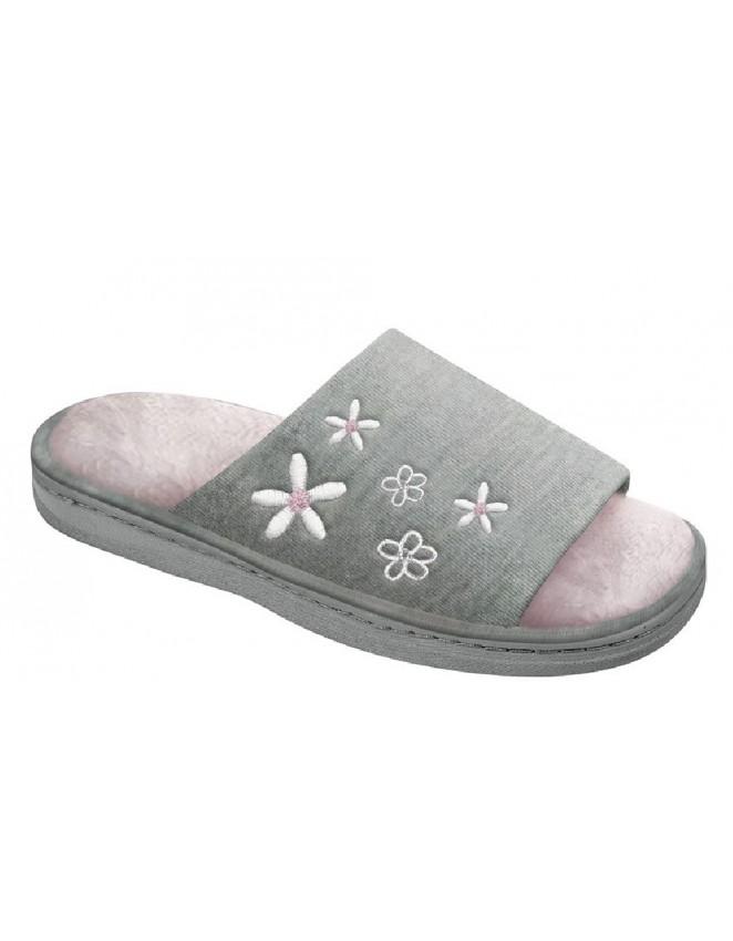 Ladies Full Slippers /'KAITLYN/' Lilac