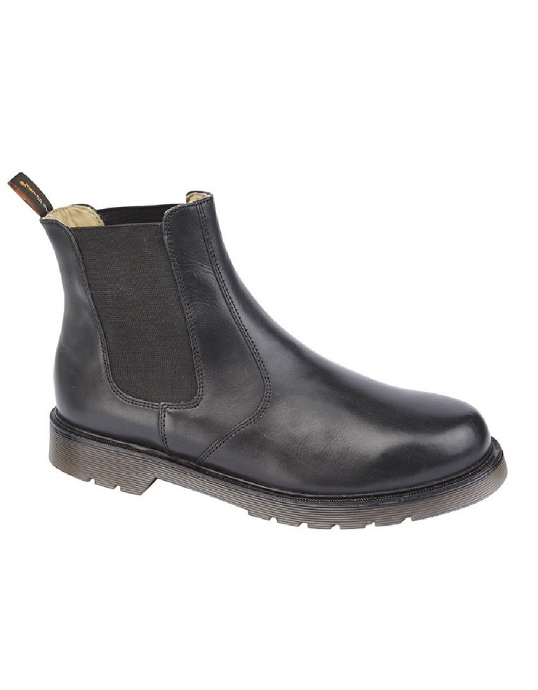 3a62f97f6a9 TredFlex TF4165 Non Safety Supple Leather Twin Gusset Chelsea Boots