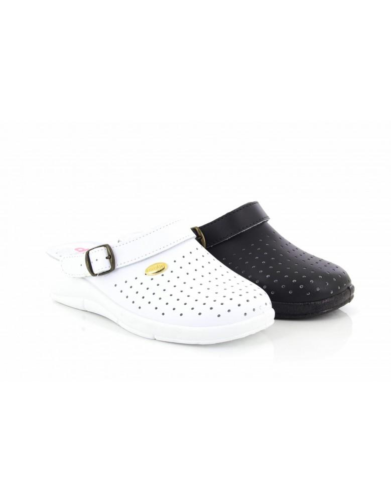 465962719bdcf0 SanMalo L687 Swivel Bar Clog Mules Nursing Hospital Sandals